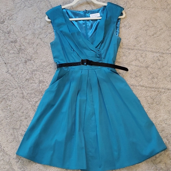 Jessica Simpson turquoise dress, size 6